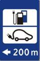 Naujas informacinis kelio ženklas elektromobiliai