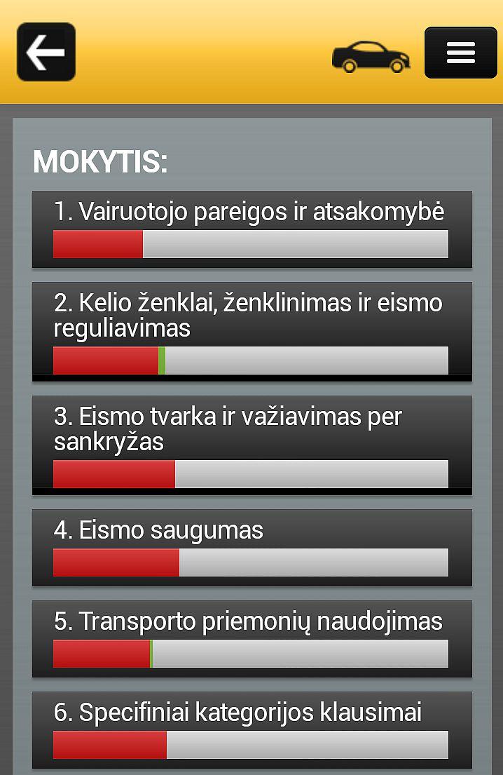 Mobili KET bilietai sveitainė - Testų rezultatai